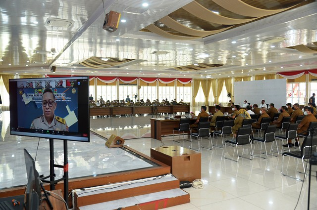 Gubernur Edy Rahmayadi Tekankan  Kolaborasi Kunci Penting Tangani Covid-19
