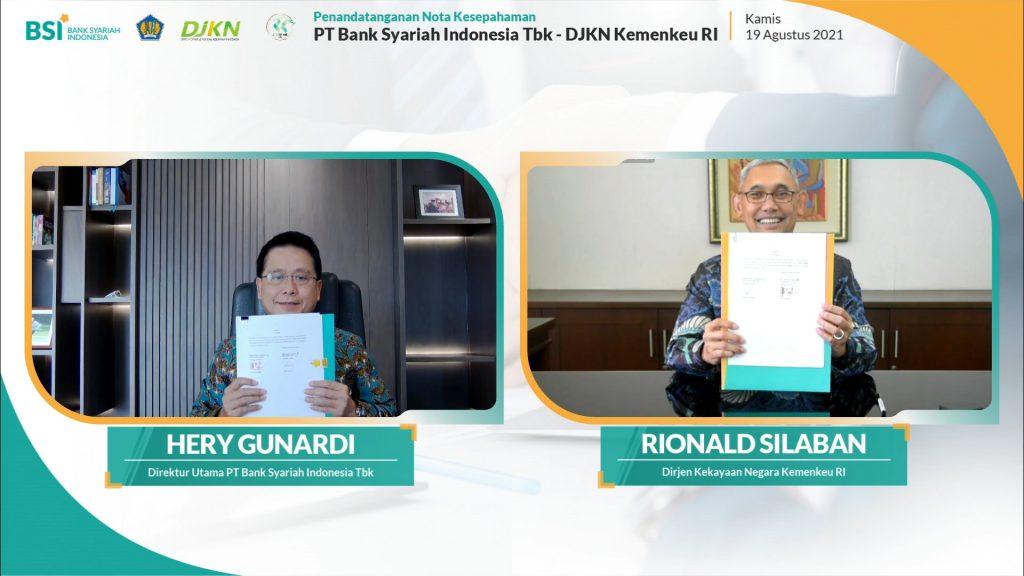 BSI Fasilitasi Layanan Perbankan Syariah DJKN Kementerian Keuangan