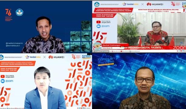 Jawab Kebutuhan SDM Digital, Kedaireka Gandeng Huawei Indonesia Selenggarakan Program Pelatihan