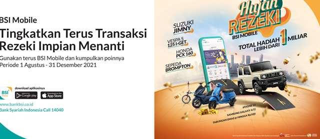 E-Commerce dan E-Wallet Dorong Peningkatan Transaksi BSI Mobile