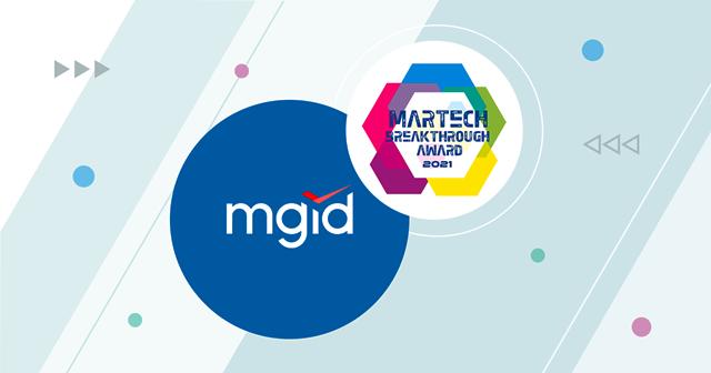"MGID Dinobatkan Sebagai ""Solusi AdTech Keseluruhan Terbaik Tahun 2021"" oleh MarTech Breakthrough Awards"