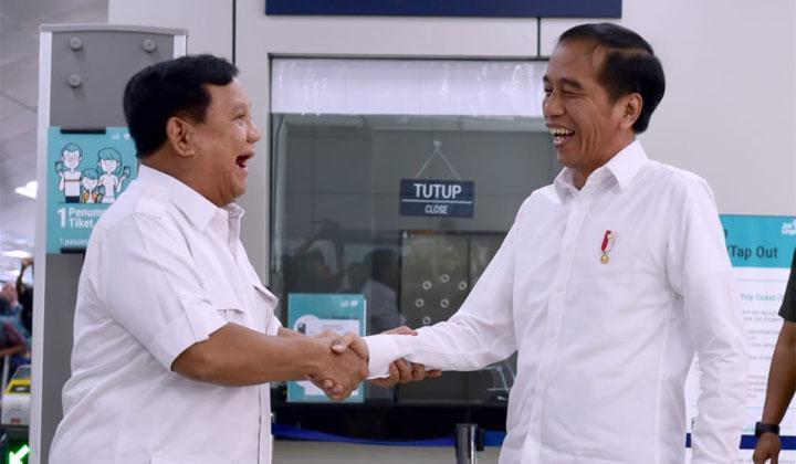 Jokowi : Pembangunan Ibu Kota Negara Baru Tetap Dilanjutkan. Prabowo : Saya Sangat Mendukung