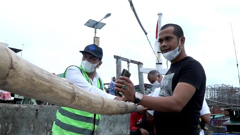 Sahuti Laporan Tokoh Adat Langkat, Gubsu Hadirkan Air Bersih di Desa Perlis