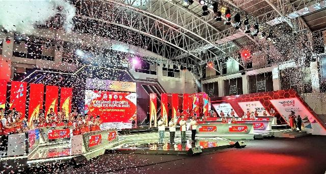 Eksibisi Esports PON XX Papua 2021  menjadi tonggak sejarah barubagi dunia esports tanah air