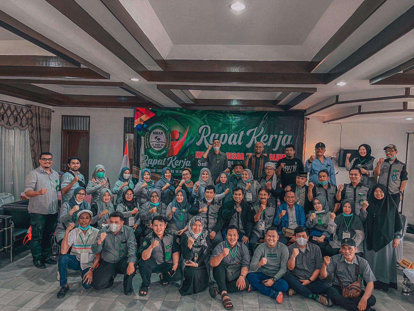 Raker Ikatan Alumni SMAN 11/10 Medan Sepakati Pembentukan Unit Usaha