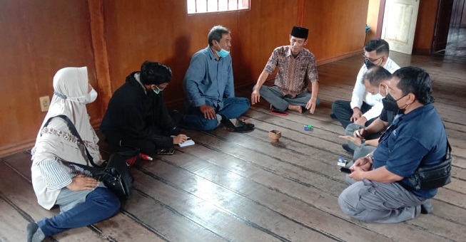 Terima Tim Cagar Budaya, Istana Negeri Padang Siap Jadi Ikon Tebing Tinggi