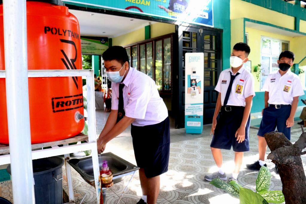 Pemko Medan Mulai Laksanakan PTM untuk SMP