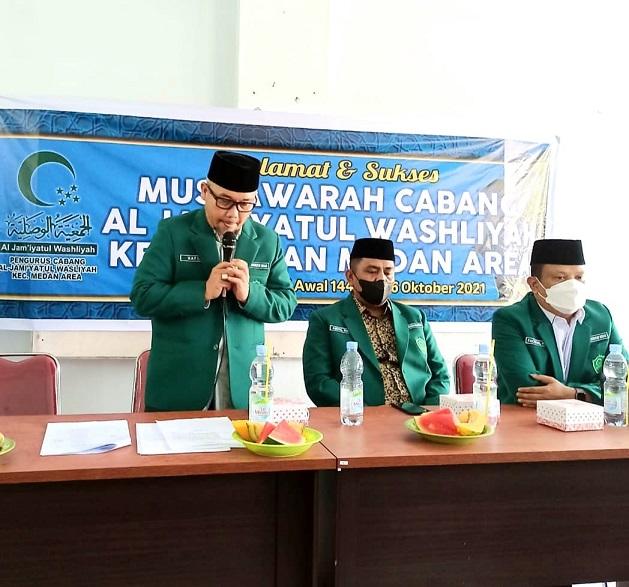 Ketua PD Al Washliyah Medan: Rawatlah Al Washliyah Dengan Jihad